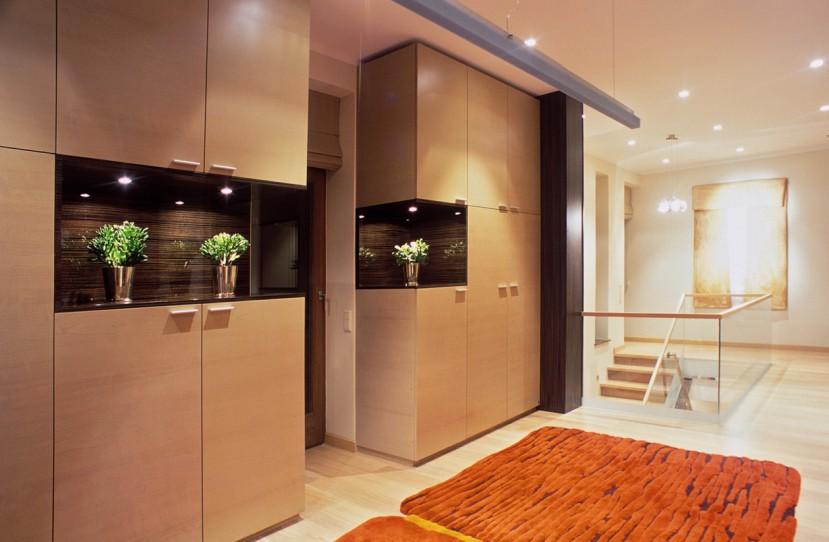 Modern beépített szekrény tervezés és kivitelezés.