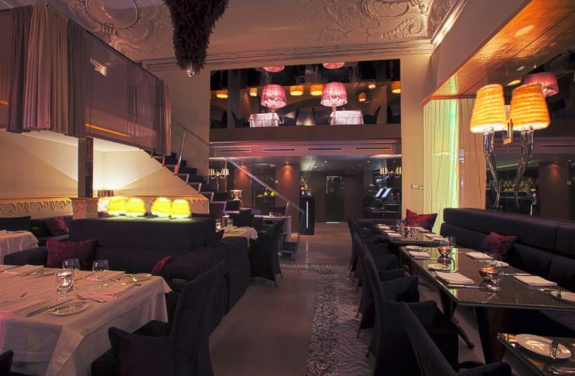 Luxus étterem tervezés és kivitelezés.