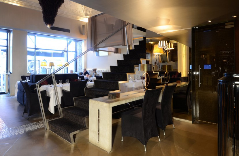 Luxus étterem tervezés.