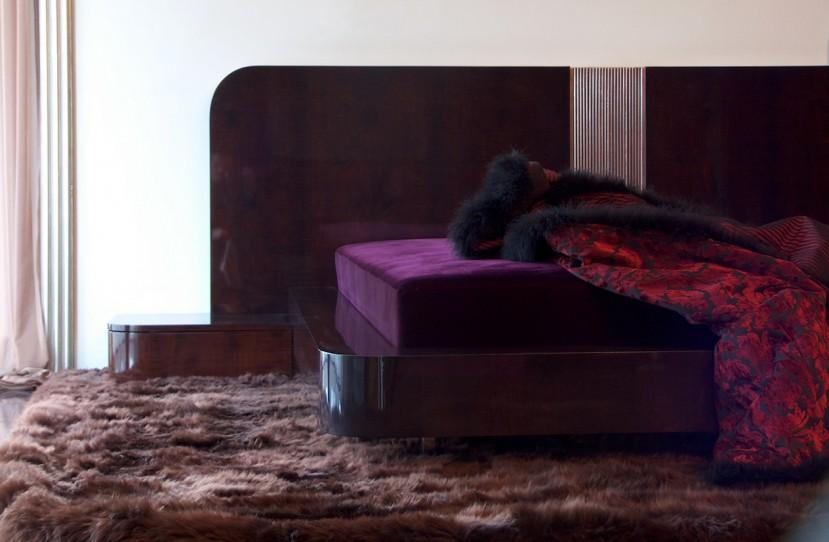Különleges design ágy tervezés.