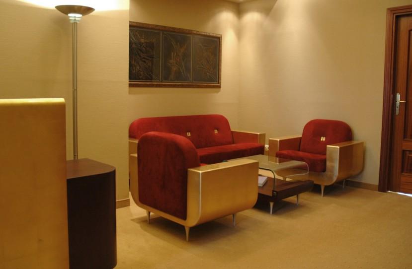 Különleges irodai ülőgarnitúra tervezés.