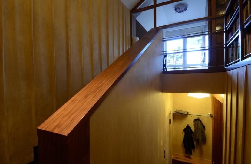 Belsőépítészet, lépcső tervezés és kivitelezés.
