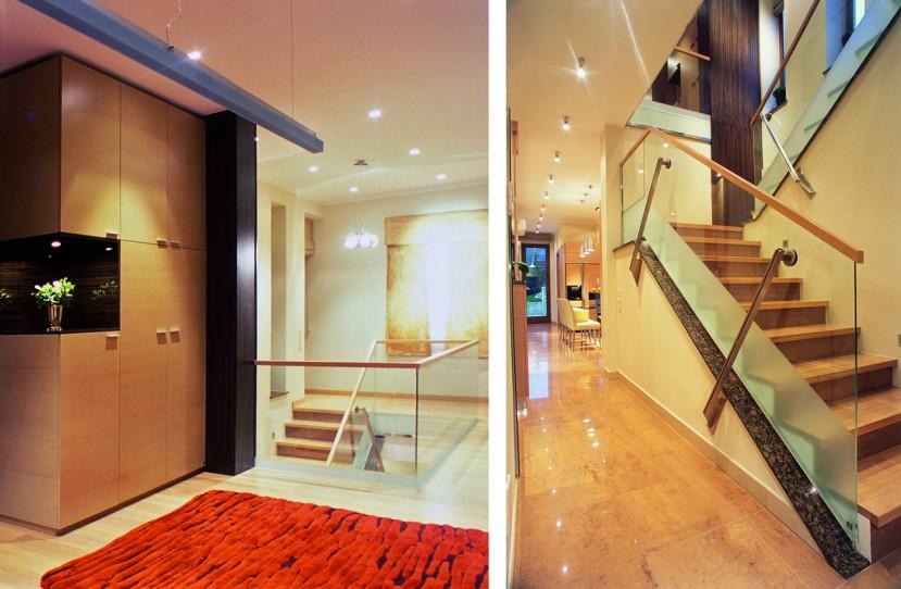 Modern lépcső tervezés és kivitelezés.