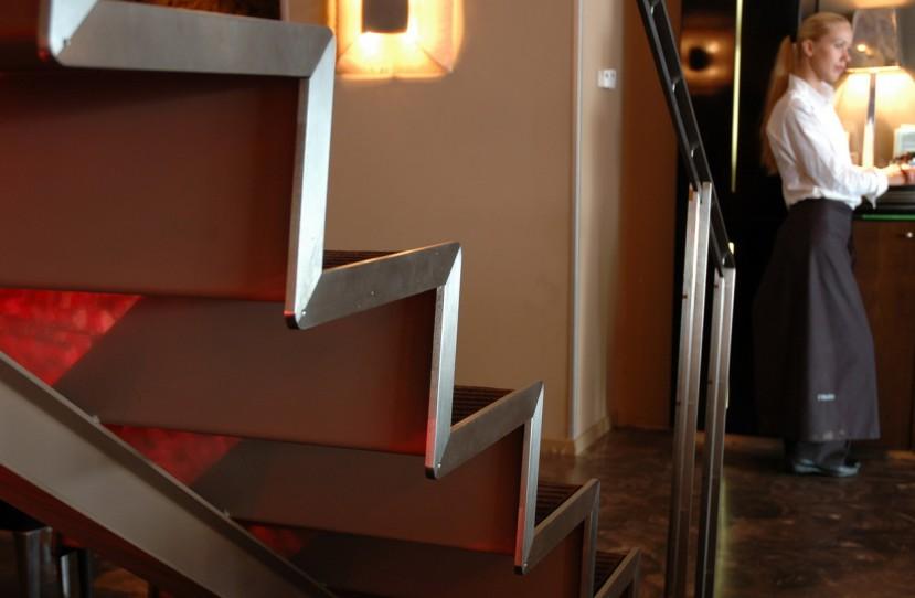 Különleges lépcső tervezés.