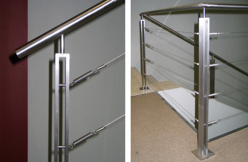 Egyedi lépcső korlát tervezés.