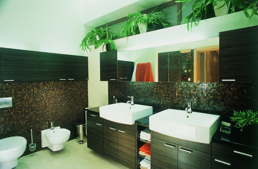 Modern fürdőszoba tervezés és kivitelezés.