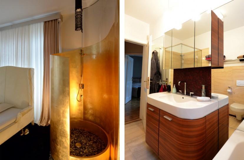 Egyedi zuhanyzó és mosdó tervezés.