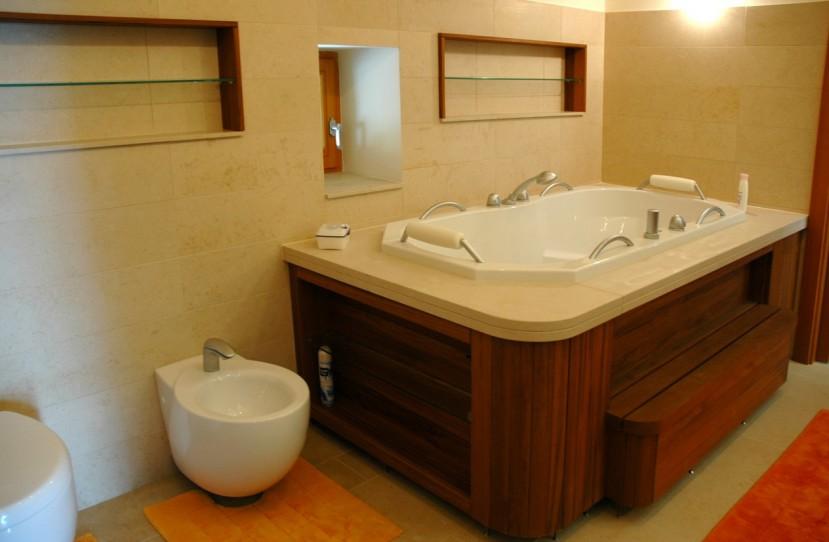 Különleges fürdőszoba tervezés.