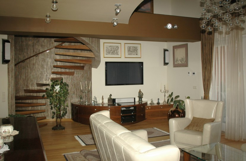 Luxus nappali tervezés és kivitelezés.